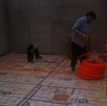 arlington virginia and washington dc radiant floor heating services and repair